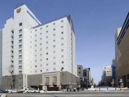 割増なしでOKホテルの一例 旭川「藤田観光ワシントンホテル旭川」 ※旭川駅より徒歩約2分