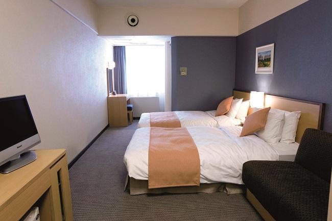 お部屋(富良野プリンスホテル・ツイン)の一例