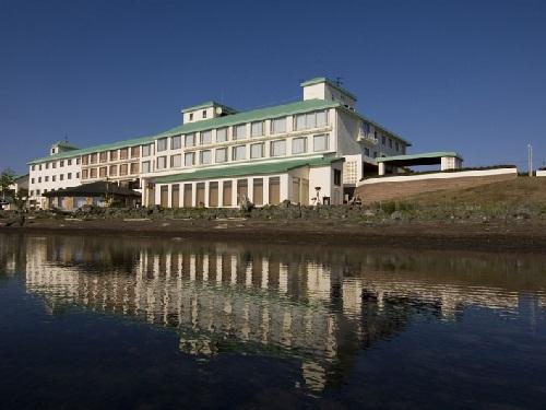 1泊目宿泊ホテル サロマ湖鶴雅リゾート 外観イメージ