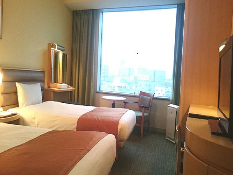ホテル お部屋(スタンダードツインルーム)の一例