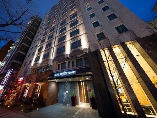 選べるホテルの一例 札幌「ホテルリソルトリニティ札幌」 外観