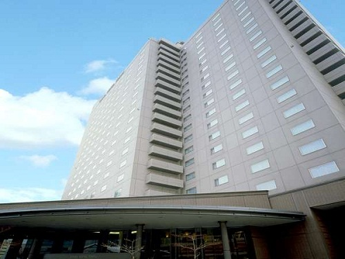 割増代金で選べるホテルの一例 札幌「札幌エクセルホテル東急」 外観