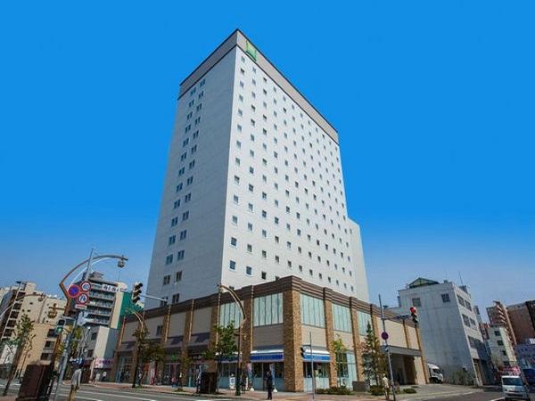 選べるホテルの一例 札幌「イビススタイルズ札幌」 外観