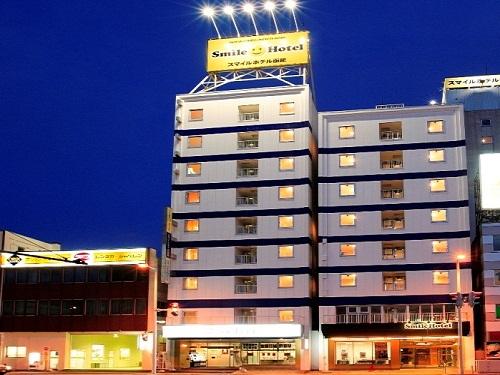 割増なしでOKホテルの一例 函館「スマイルホテル函館」 ※函館駅徒歩約3分