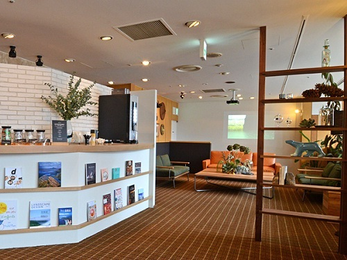 選べるホテルの一例 函館「リソル函館」 館内(ロビー周辺)