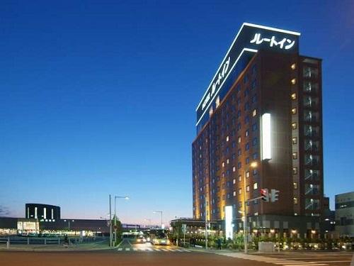 選べるホテルの一例 函館「ルートイングランティア函館駅前」 外観