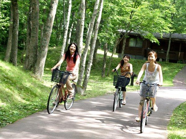 夏休みの家族旅行応援!おとなもこどももレンタサイクル半額で利用OK!大自然の中をサイクリングしよう♪ 北海道 夏休み特集! ◇ツイン◇ファミリーにうれしいレンタサイクル半額で利用OK!