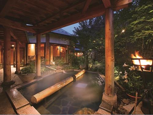 お風呂(露天風呂「夢枕の湯」)