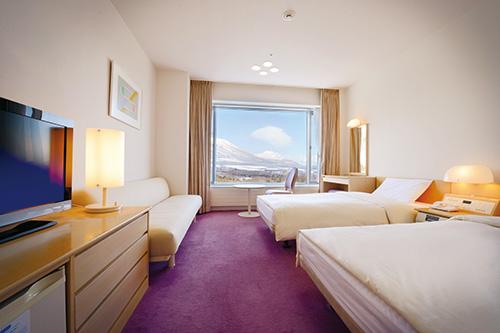 雫石プリンスホテル お部屋(スタンダードツイン)の一例