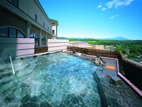 ホテル森の風鶯宿「和風風呂」空中露天風呂のイメージ※割増あり