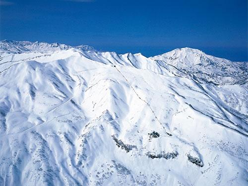 スキー場全景のイメージ