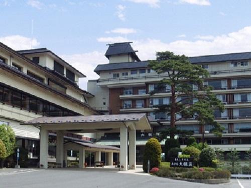 ホテル松島大観荘の外観