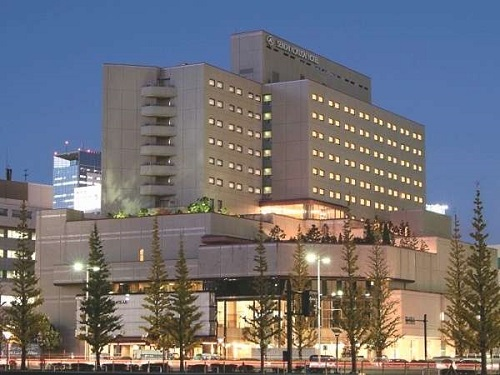 仙台国際ホテルの外観