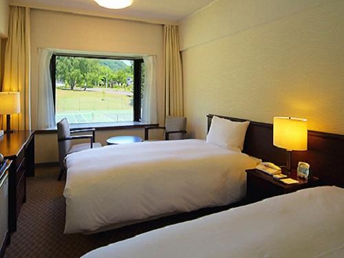 十和田プリンスホテル(割増ホテル) お部屋(マウンテンサイドツイン)の一例