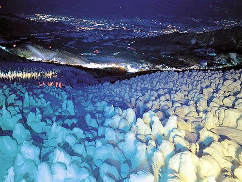 蔵王・樹氷ライトアップのイメージ