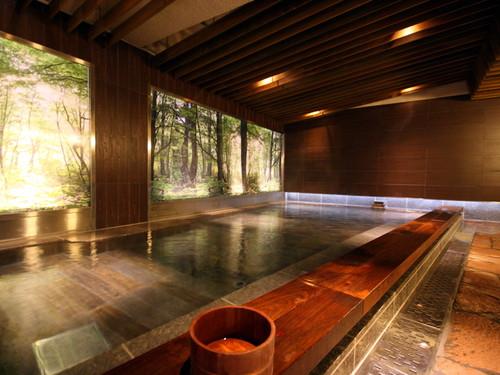湯遊天国(本館)木もれ陽の湯