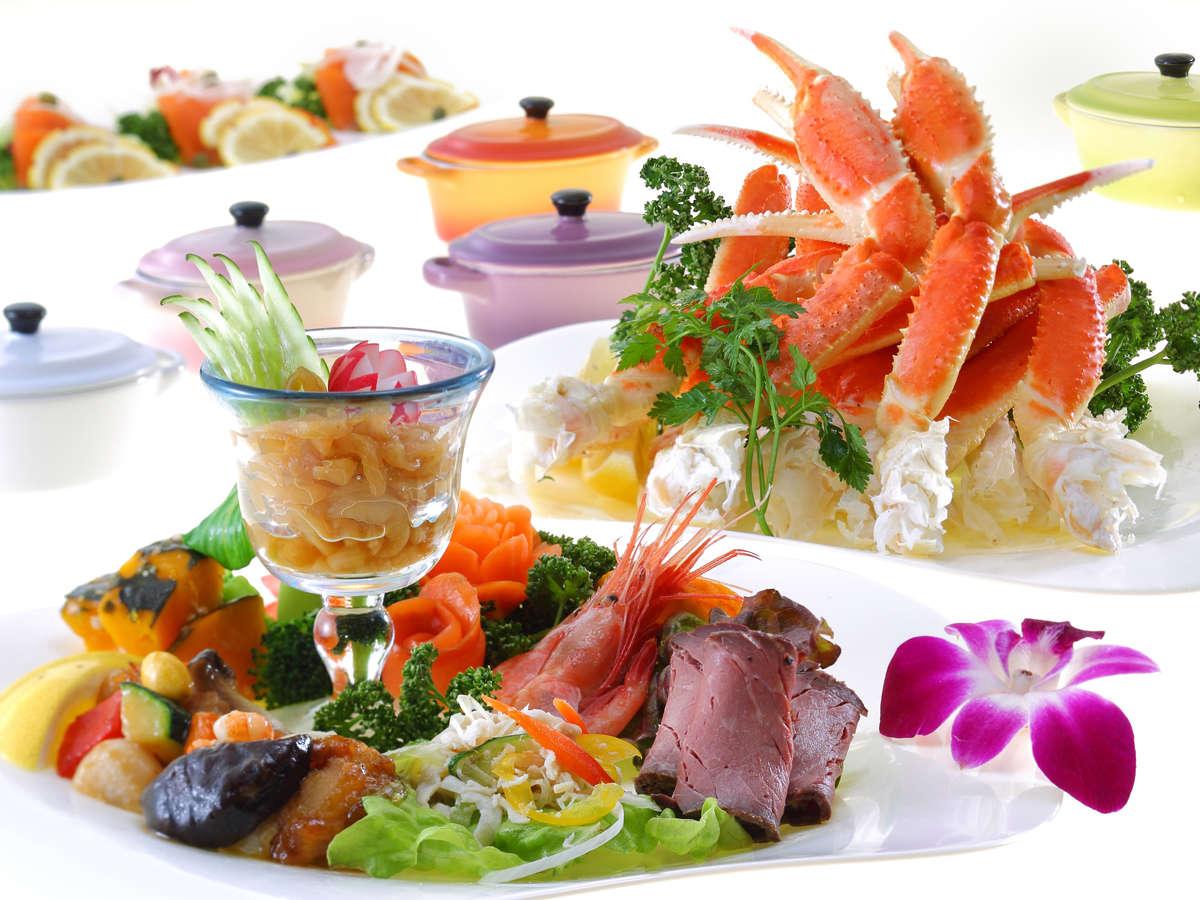 あさや お料理(夕食バイキング)のイメージ