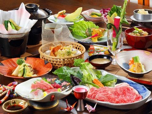 お料理(鬼ぬ太御膳(一人盛))の一例