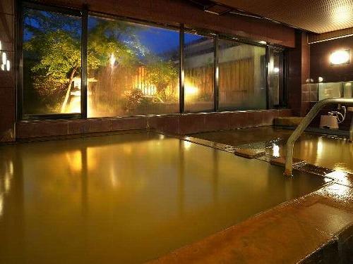 庭園大浴場「ほととぎすの湯」