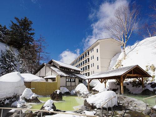 万座高原ホテル 石庭露天風呂のイメージ