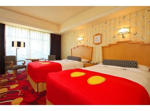 アールデコ・スタイルとディズニーの魔法がとけあうディズニーホテル。 舞浜&新浦安ステイ! アンバサダーフロア ミッキーマウスルーム