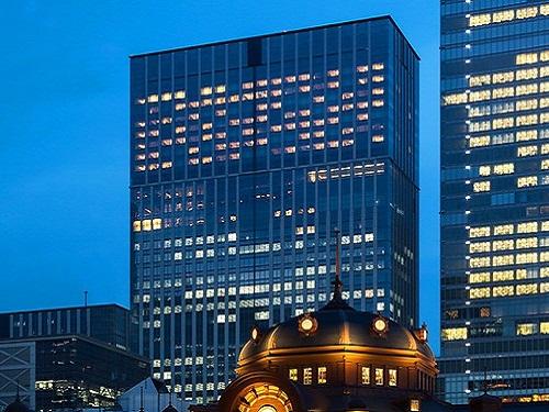 【東京湾側のお部屋確約】大都会の夜景を眺めながら贅沢なひと時を♪JR東京駅日本橋口徒歩1分! 【憧れのラグジュアリーホテルに泊まる】 東京湾側確約 デラックスツインステイ
