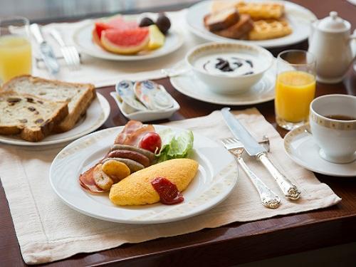 お料理(サール 朝食)の一例