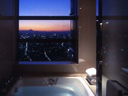 お風呂から極上の夜景を満喫♪42階以上六本木ヒルズ、東京タワー側ビューバスのお部屋をご用意! 【近畿日本ツーリスト×丸々もとお】 夜景プラン パークビューダブル 六本木ヒルズ・東京タワー側