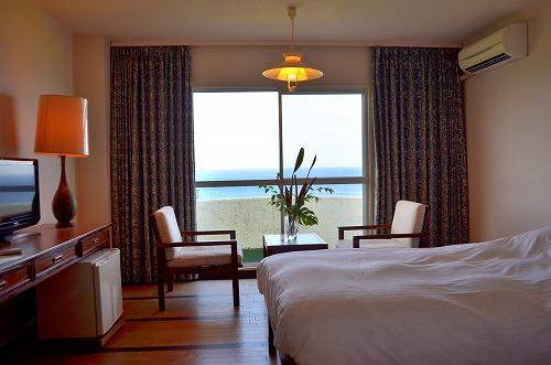 リードパークリゾート八丈島海側客室の一例 ※割増代金がかかります