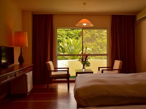 リードパークリゾート八丈島山側客室の一例