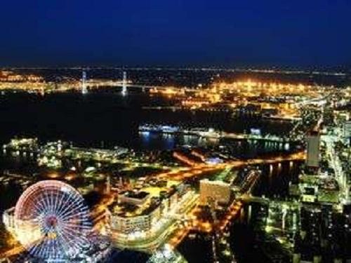 横浜ベイブリッジを望むベイビュー確約♪全室52階以上のスカイリゾート♪ カップル・ご夫婦 大人旅 ベイビュー確約プラン ツイン【禁煙】