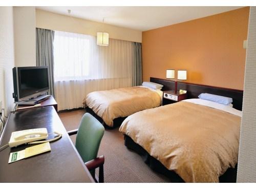 【行こうよ新潟】万代シルバーホテル ツイン(2・3名1室) 2日間