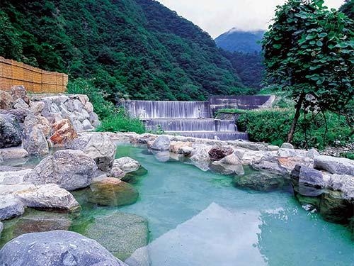 野天風呂「蓮華の湯」のイメージ