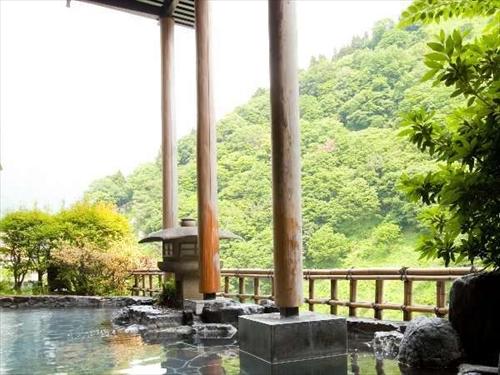 延対寺荘お風呂(自然と一体感のある露天風呂)のイメージ ※基本ホテル