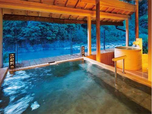 お風呂(川床露天風呂)のイメージ