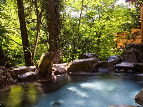 岩造り露天風呂「百間の湯」