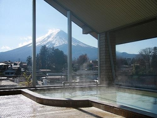 21日前までの予約がお得!GWも7月の連休も受付中♪富士山を望む大浴場と河口湖を見渡せるホテル♪ はなまる山梨! 【早21】そうだ!富士の国山梨へ行こう♪