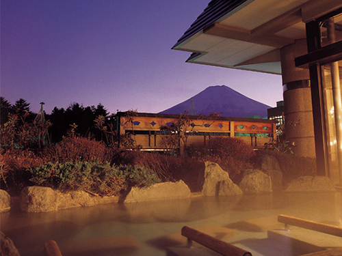 お風呂(赤富士の露天風呂)のイメージ