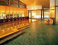 黒部観光ホテル 大浴場(木の湯)