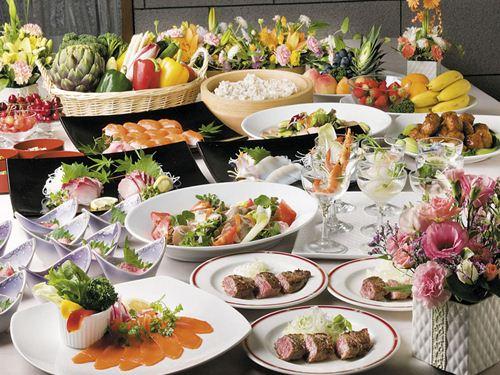 夕食料理(和洋バイキング)のイメージ