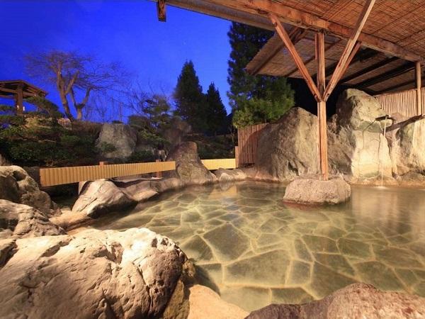 お風呂(日本一の星空を眺めながら)