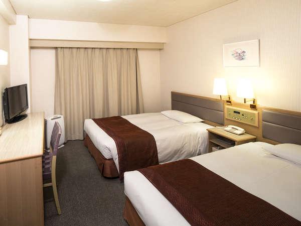 お部屋(ツインルーム)の一例