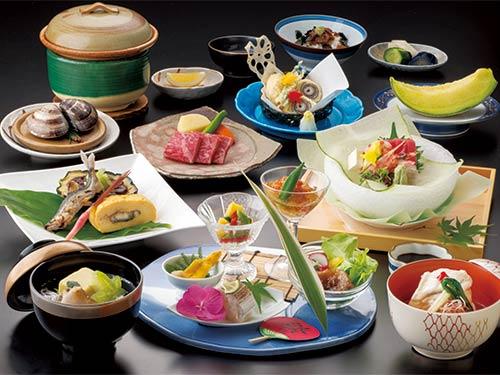 お料理(夏の本館和会席)のイメージ