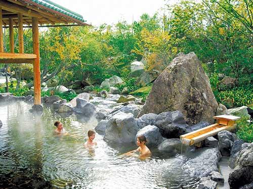 お風呂(湯あみの島)のイメージ