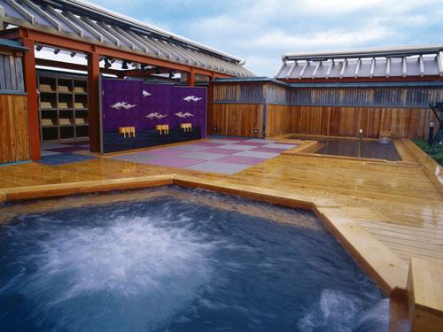 展望露天風呂「天雅」のイメージ ※男女日替わりでご利用いただけます。
