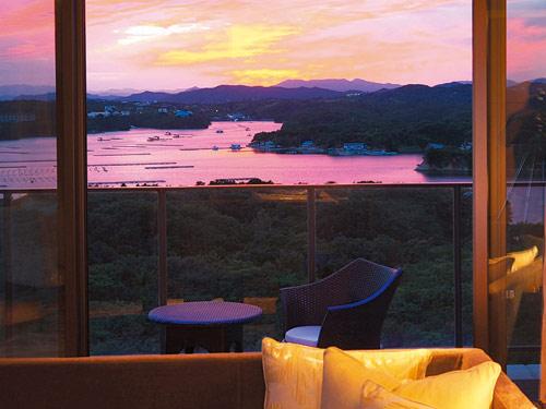 志摩観光ホテルベイスイートからの眺め