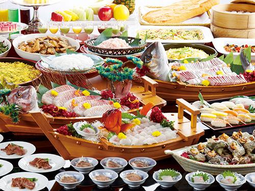 お料理(和洋中バイキング)のイメージ