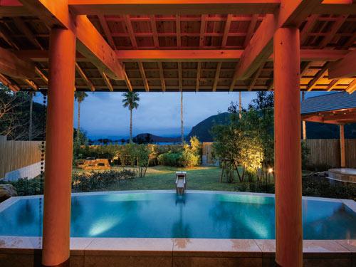 ホテル季の座 女性露天風呂「はくさ城の浜」のイメージ