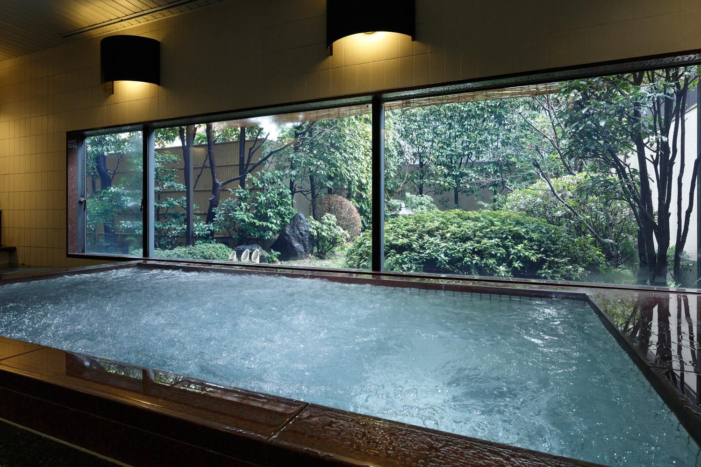 お風呂(庭園浴場)のイメージ