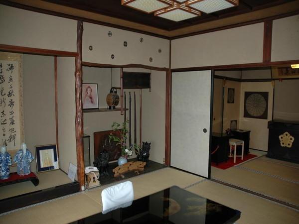 お部屋(幾松の間・宿泊不可・見学のみ)の一例